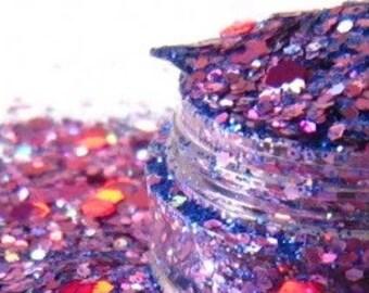 Stunner solvent resistant  holographic glitter