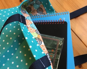 Canvas Tote Bag - Polka Dots