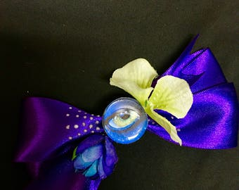Avatar/Pandora Glow in the Dark Hair Bow