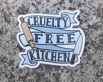 Cruelty Free Kitchen - Magnet