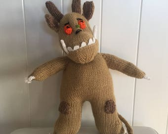 Hand Knitted Gruffalo Cuddly Toy