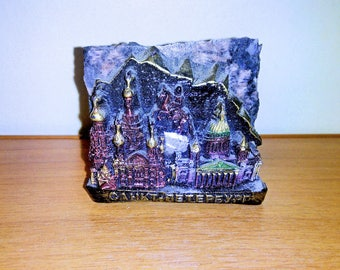 Souvenir of the stone Church of the Savior on the spilled blood