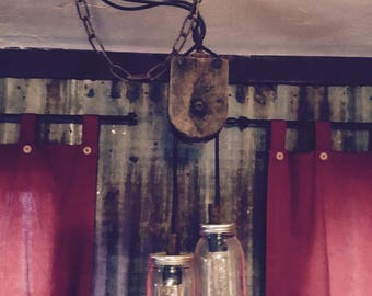 Farmhouse Pendant Light Fixture