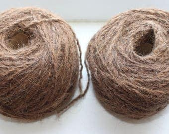 100% Brown Natural  Camel Yarn