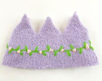 Felted Wool Crown Birthday Dress Up Waldorf