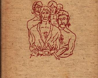 Mutiny on the Bounty - Charles Nordhoff & James Norman Hall - Fletcher Martin - 1947 - Vintage History Book