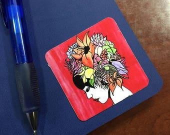 "Bouquet 2.5"" Sticker - Original Watercolor Print"