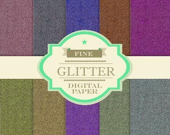 FINE Glitter Paper Pack [DIGITAL FILE]