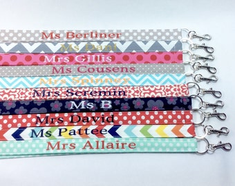 custom lanyard, lanyard, personalized lanyard, cute lanyards, key lanyard, teacher lanyard, lanyard with id holder, badge lanyard