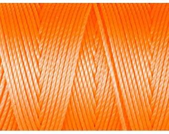 Neon Orange C-Lon Beading Cord 92 Yards