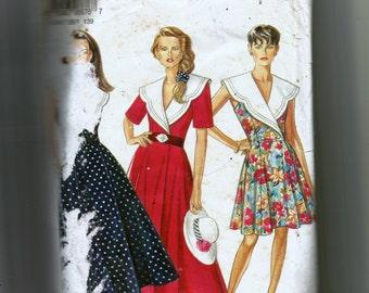 New Look Misses' Dress Pattern 6676