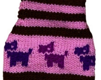 We specialize in made to measure dog pet sweaters jackets and guaranty a perfect fit - other colors are possible