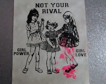 Not Your Rival ART PRINT