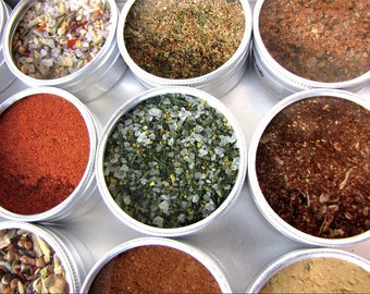 4 oz refill tin of any of our BBQ rub blends.