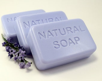 Lavender Chamomile Essential Oil Soap, Natural Soap Bar