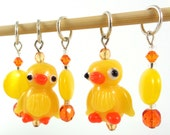 Go Quackers Stitch Marker Set - Customizable for Knitting or Crochet