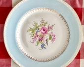 Vintage 1940's Homer Laughlin Chateau Dinner Plate