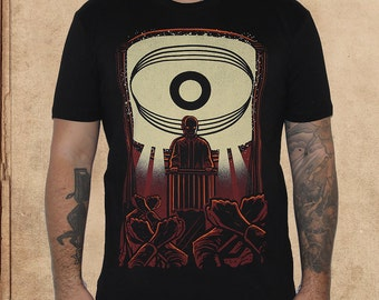 1984 - nineteen eighty four - george orwell - discharge ink