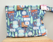 Wet Bag wetbag Diaper Bag ICKY Bag wet proof camping boy gym bag swim cloth diaper accessories zipper gift newborn baby child kids summer