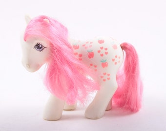 My Little Pony, G1, Mommy Apple Delight, Loving Family Ponies, Year 7 ~ The Pink Room ~ 170126
