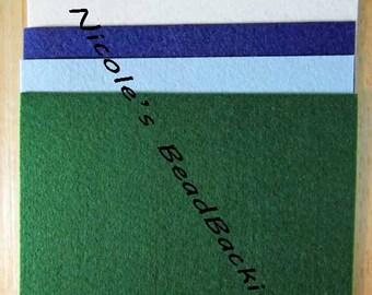 Bead Backing Nicole's BeadBacking Beading Foundation Fabric Textile 12x9