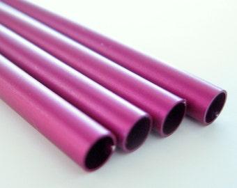 "Anodized Aluminum Tubing 1/8"" Fuchsia"