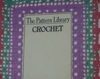 Crochet Pattern Library Stitch Reference Double Stitch Cable Lace Color Beginner Instruction