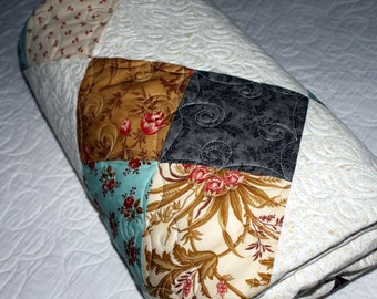 ATELIER handmade throw quilt ready to ship