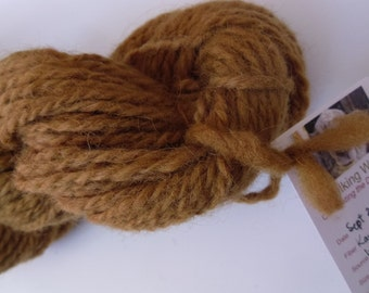 Karakul Sheep Wool handspun yarn naturally dyed handmade dye fleece fiber textile knitting crochet fulling felt