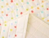 Japanese Fabric Nani Iro colorful Pocho quilted double gauze - harmonic - 50cm