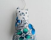 Kitty Plush Ornament For Adoption For Mew