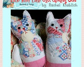 Instant Download Old Quilty Kitty PDF Sewing Pattern DIY Tutorial Little Bird Lane EASY
