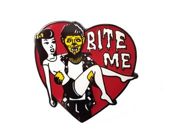 BITE ME - Hard Enamel Pin
