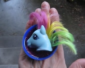 RESERVED Listing for Amaya - Upcycled My Pony adjustable ring