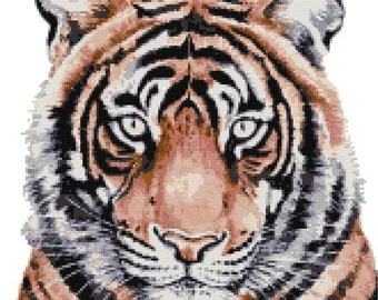 Tiger by Christine Varley counted cross stitch kit
