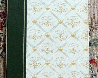 Writing Journal Travel Journal Wedding Guest Book Lined Paper Vintage Book Handbound