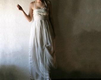Wedding dress, Hippie Boho Wedding dress, Beach wedding dress, Maternity wedding dress, Plus size dress, 1920s Wedding dress