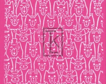Cat Crowd Silk Screen Ready to Ship