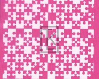 It's Puzzling Silk Screen