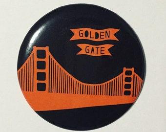 Golden Gate Bridge San Francisco Magnet