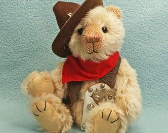 Tex  Artist teddybear mohair jointed