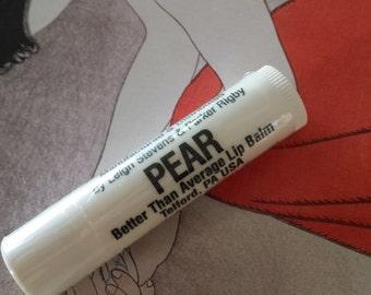 Pear - Better Than Average Lip Balm