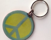 Peace keychain for Val