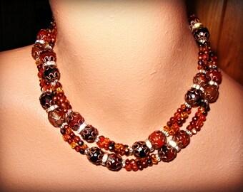 SEDONA statement necklace