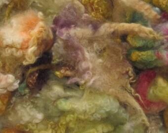Border Leicester Yearling Fleece, 4 ounces, 154