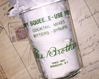 Vintage Fee's Cocktail Measuring Glass
