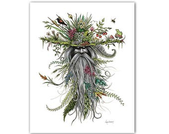 Chlorophyll Bill - Charitable Limited Edition Art Print - Limited Edition Print by Ryan Berkley