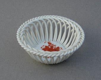 Open Weave Basket Etsy