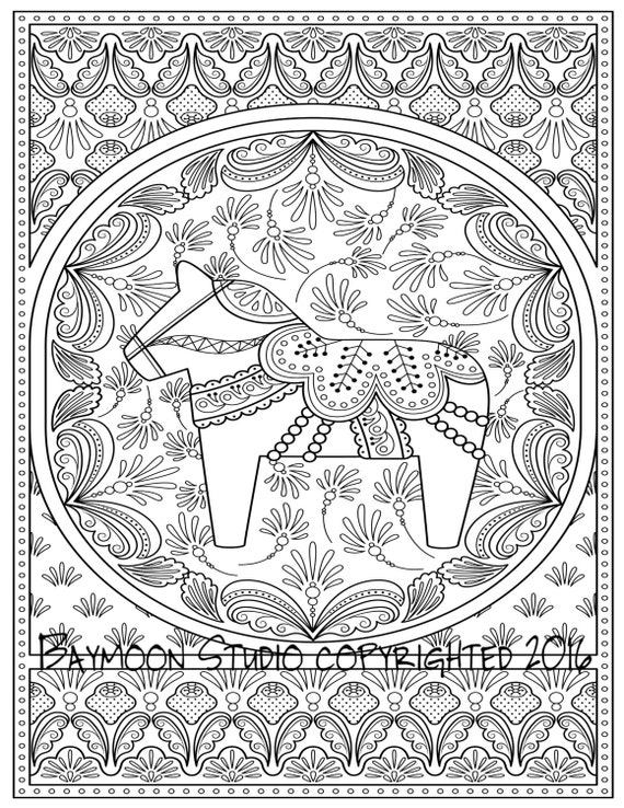 swedish coloring pages - photo#12
