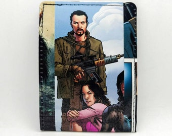 Sewn Comic Book Wallet - Firefly / Serenity - Jayne and River (a)